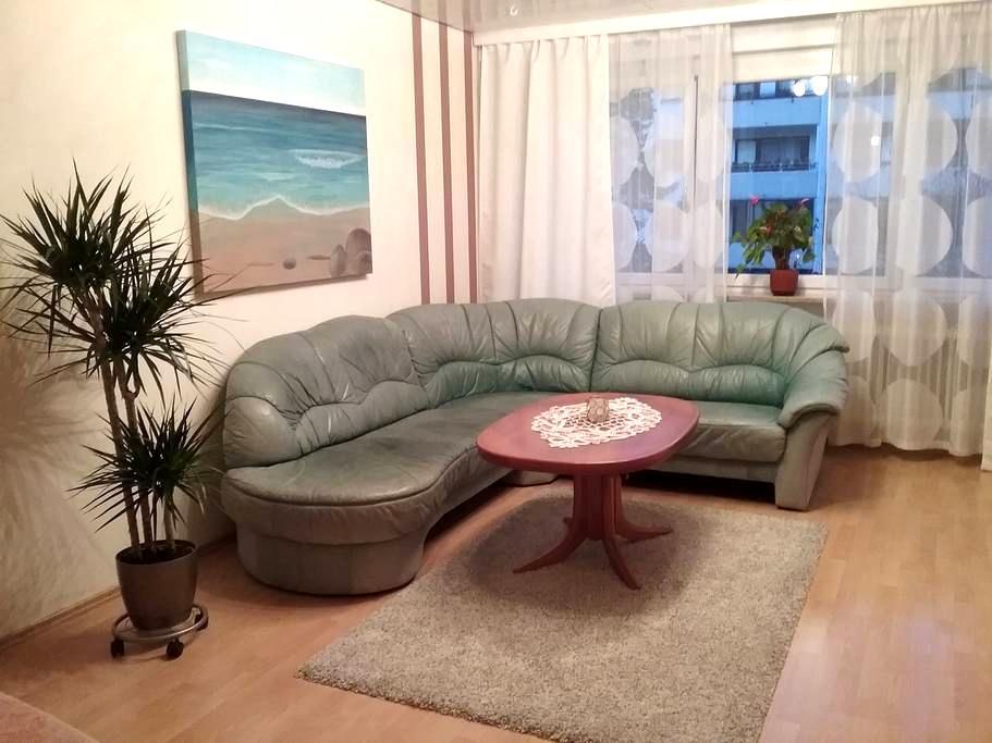 Gemütliche Wohnung in der Nähe des Messezentrums - Augsburg - Huoneisto