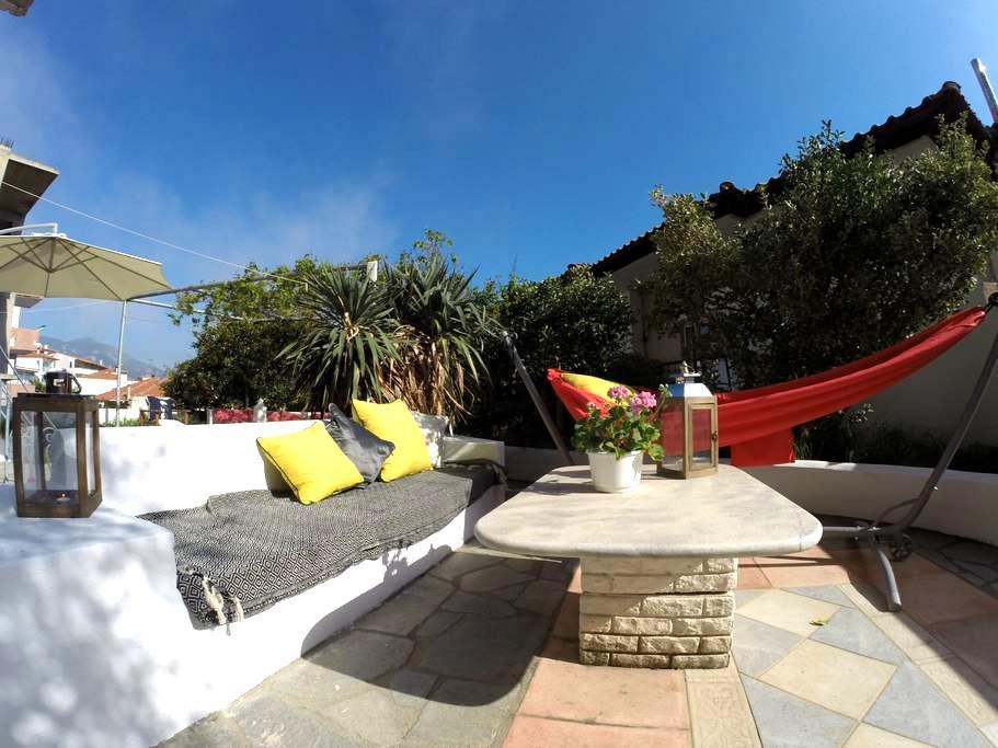 Alterra Vita: Cozy studio with garden (sleeps 4) - Neos Marmaras - Wohnung