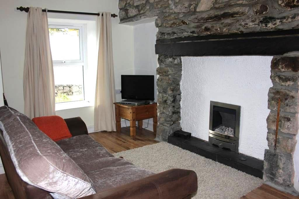 Cottage, Snowdonia, north Wales - Bethesda - House