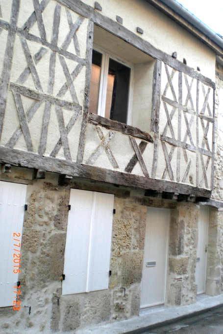 Studio dans rue médiévale - Casteljaloux - Appartement