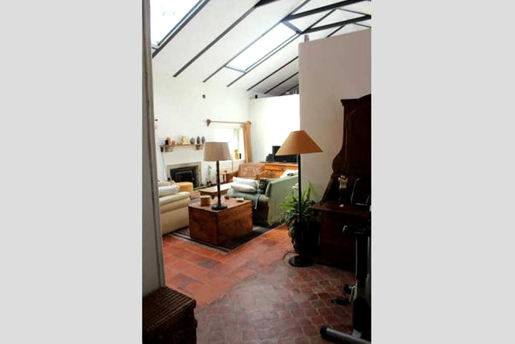 Habitación doble en casa campo - Fuentemilanos - Дом