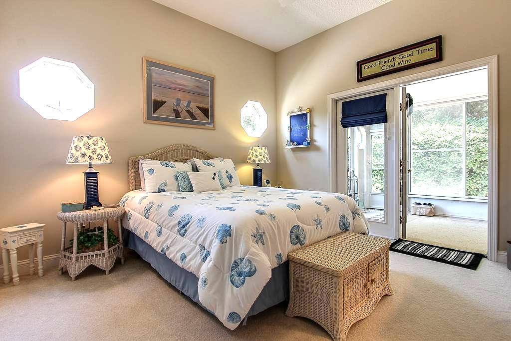Amelia Island Beachy Comfy Getaway-Late check out! - Fernandina Beach