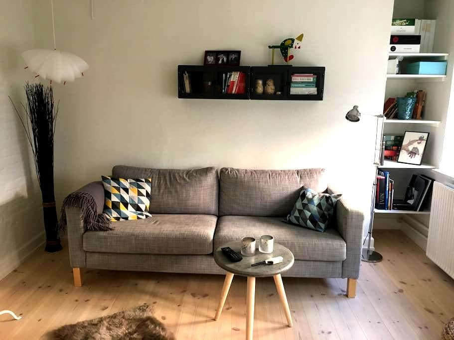 Cozy appartment in central Odense - Odense C - Adosado