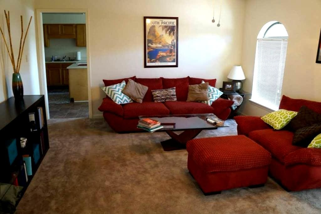 0.9 miles to Univ. of Southern Miss - Hattiesburg - Appartement