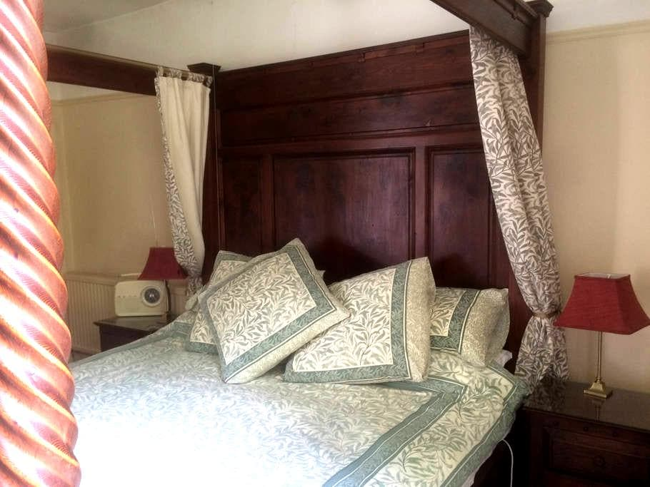 Clanville Manor:  Georgian Farmhouse relaxed B&B - South Somerset District - 家庭式旅館