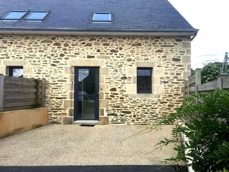 Petite maison en pierre en campagne - Plouédern - Apartment