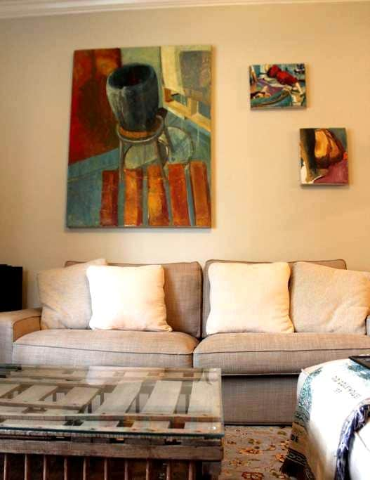 Private Bed/Bath in Cozy Apartment - Greenville - Byt