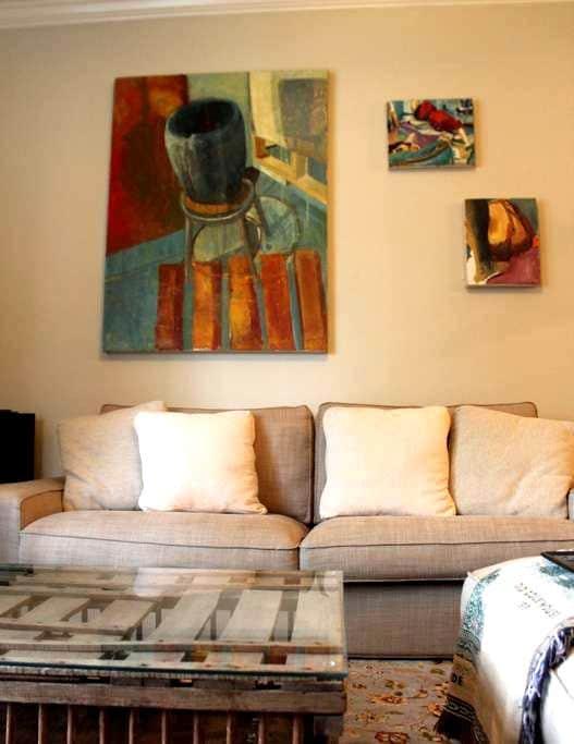 Private Bed/Bath in Cozy Apartment - กรีนวิลล์ - อพาร์ทเมนท์