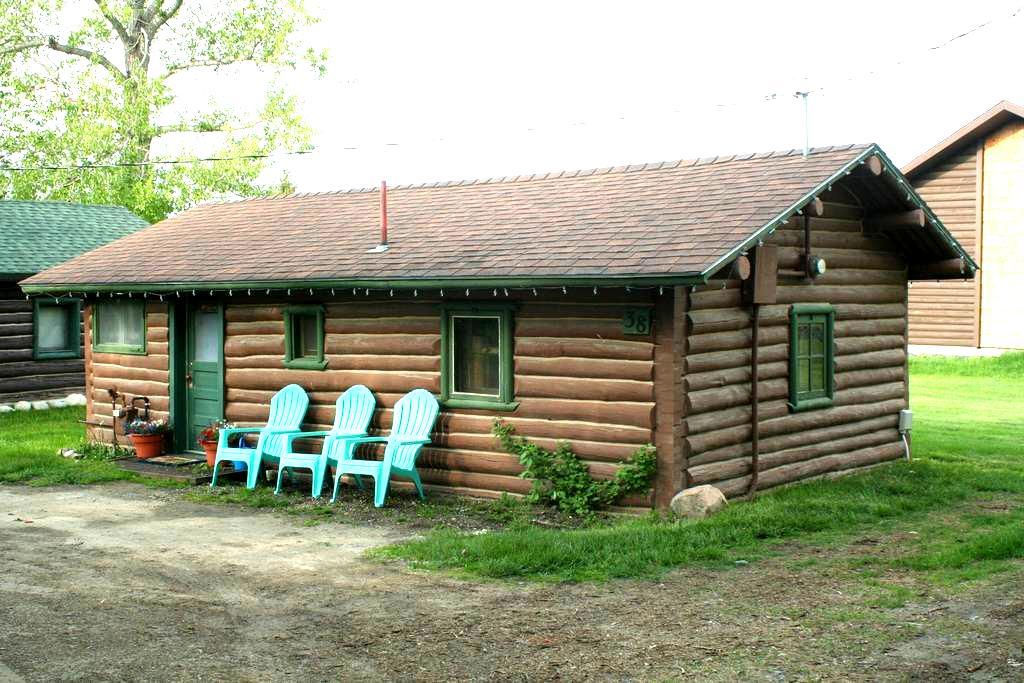Montana Moose Cabin - 雷德洛治(Red Lodge) - 小木屋