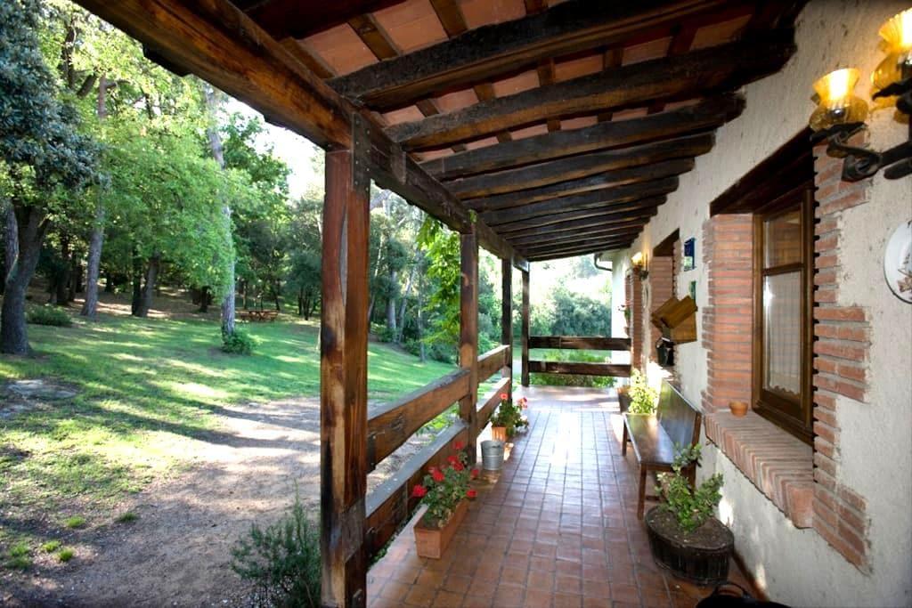 Casa rural con vistas al bosque 2 - Taradell - Huis