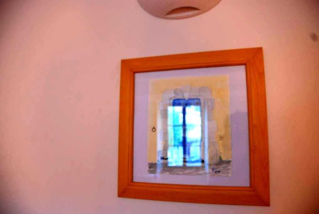Chambre Jaune à La Maison du Voisin - Banon - Adosado