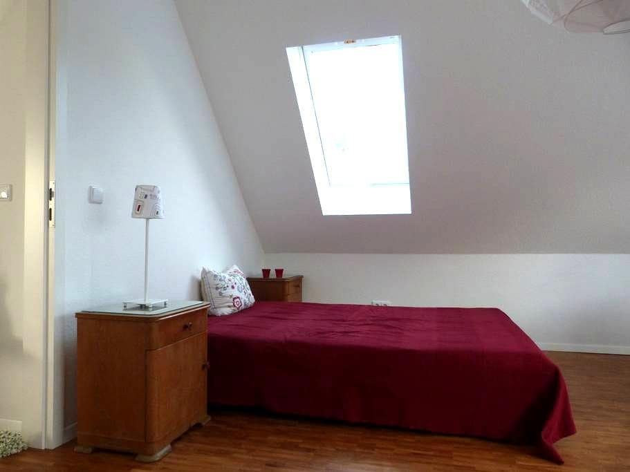 2 Zimmer/Bad in separater Wohnung - Königstein im Taunus - Bed & Breakfast
