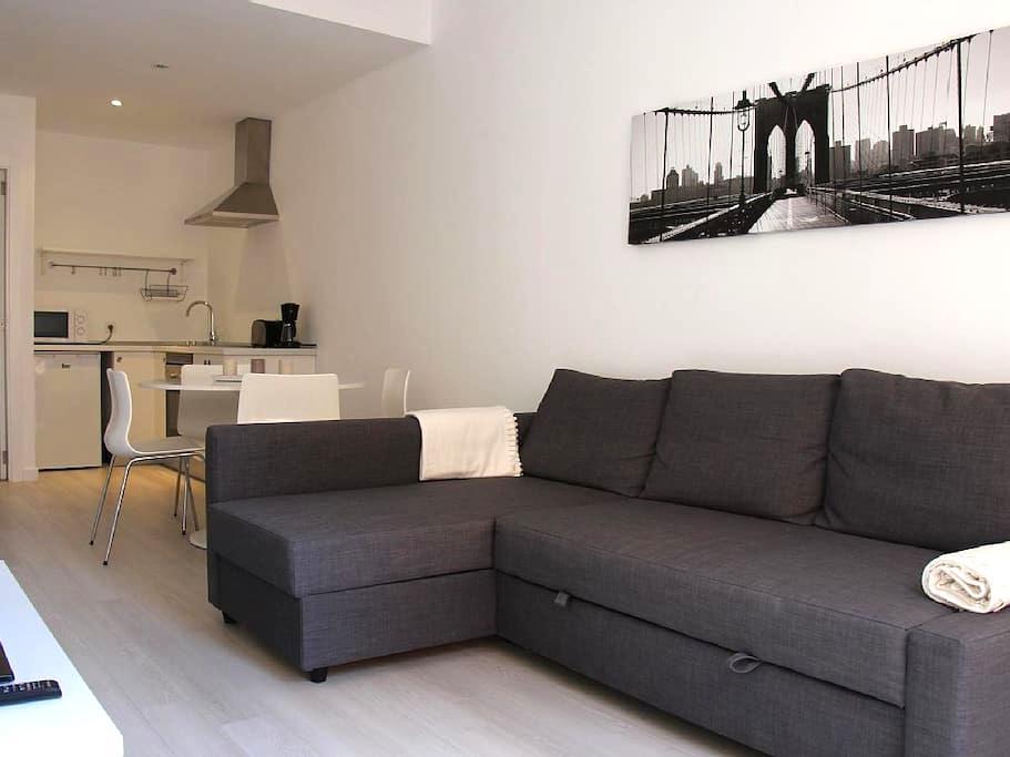 Amplio estudio en centro de Palma - Palma - Appartement en résidence