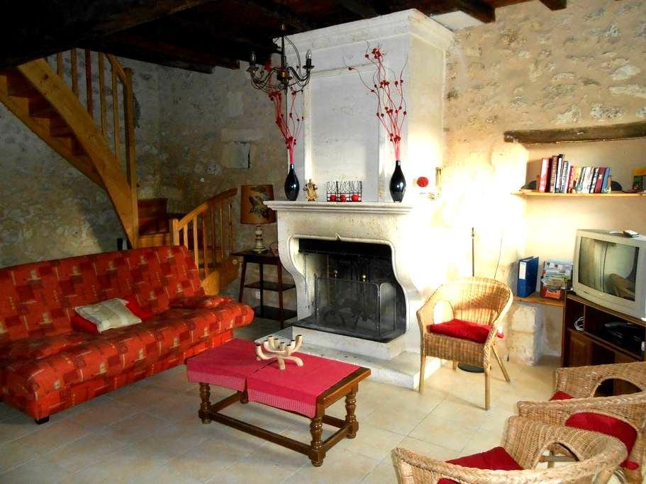 maison en pierre proche Bordeaux et St Emilion - Daignac - 独立屋