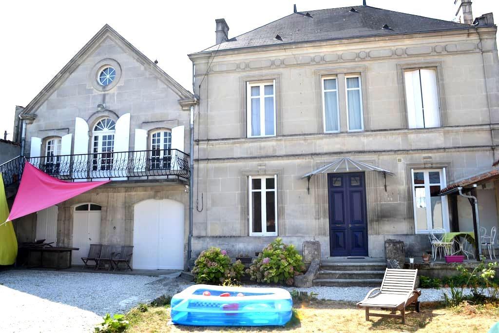 Chambre indépendante avec salle de bain en suite - Cognac - Adosado