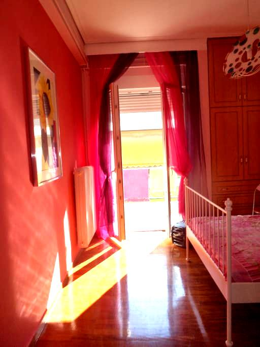 ROMANTIC BEDROOM+LIVINGROOM, CENTER - Volos