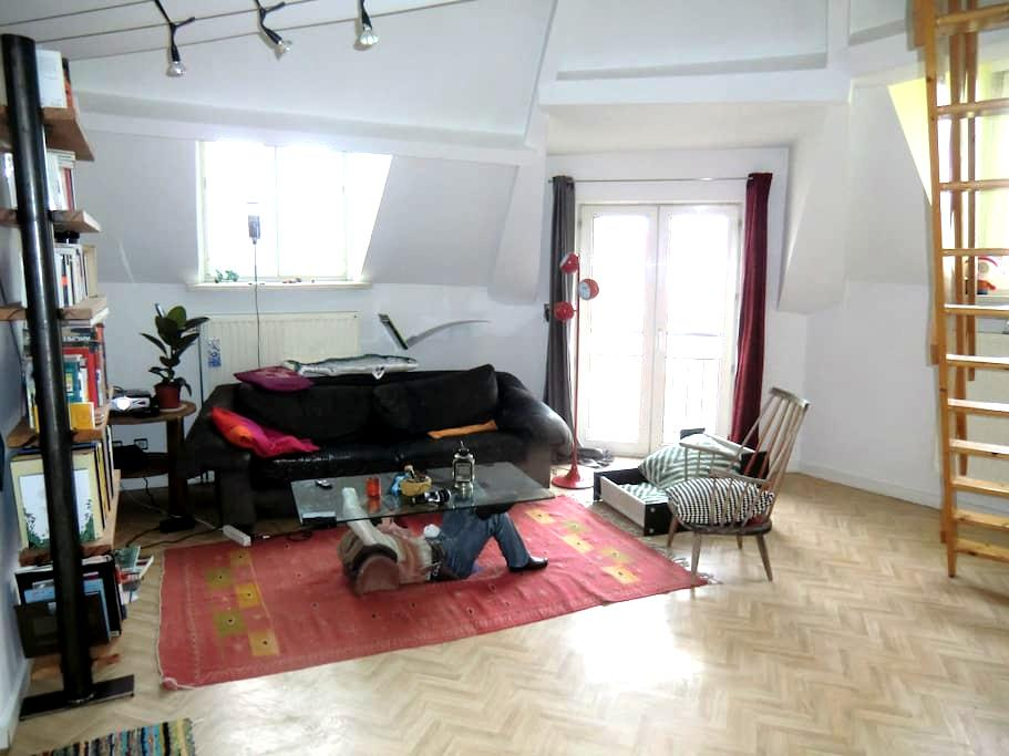 Nice duplex for couple or friends - Etterbeek - Lejlighed
