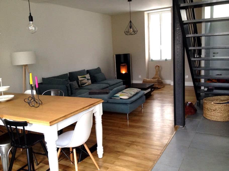 Maison avec jardin proche Centre - Bourges - Casa