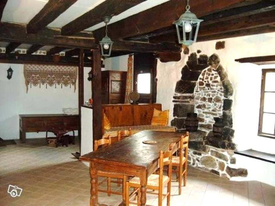Gite indépendant dans demeure XVIIème REMIS en loc - Hasparren - House