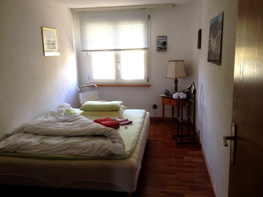 Privatzimmer mit Doppelbett  - Wil - Apartment
