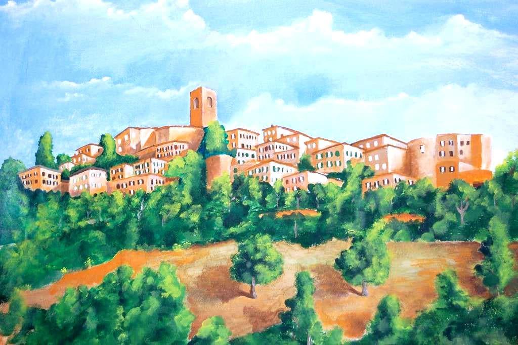 LA CASINA DI BRULLI.... in Toscana - Casole d'Elsa - アパート