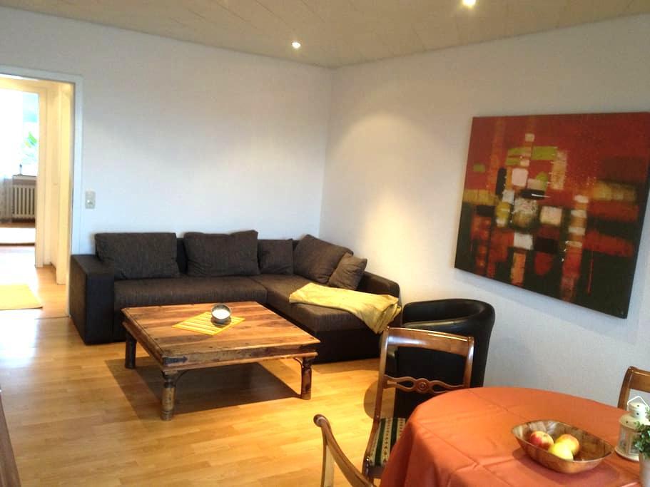 Gemütliche Wohnung mit Balkon - Duisburg - Apartamento