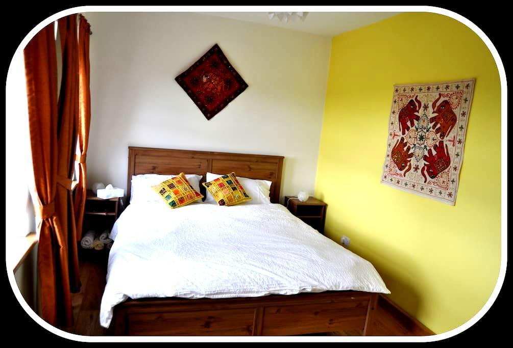 Wild Atlantic Way-Modern Country Home-India Room - Kilcolgan - Aamiaismajoitus