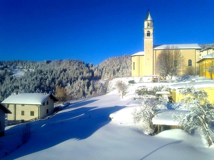 tranquillita' vicino ai campi da sci - San Sebastiano - Casa