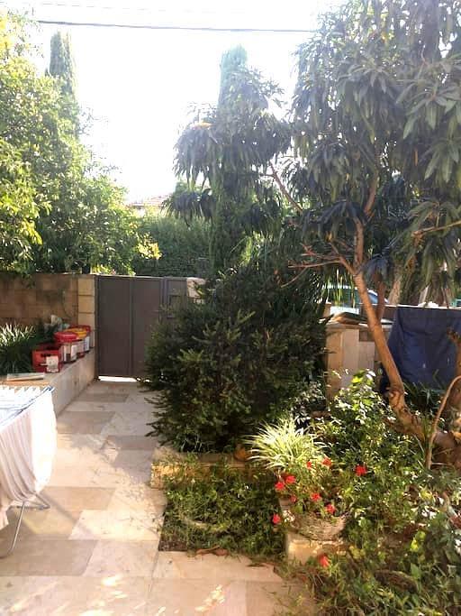The garden house - כפר סבא - Casa