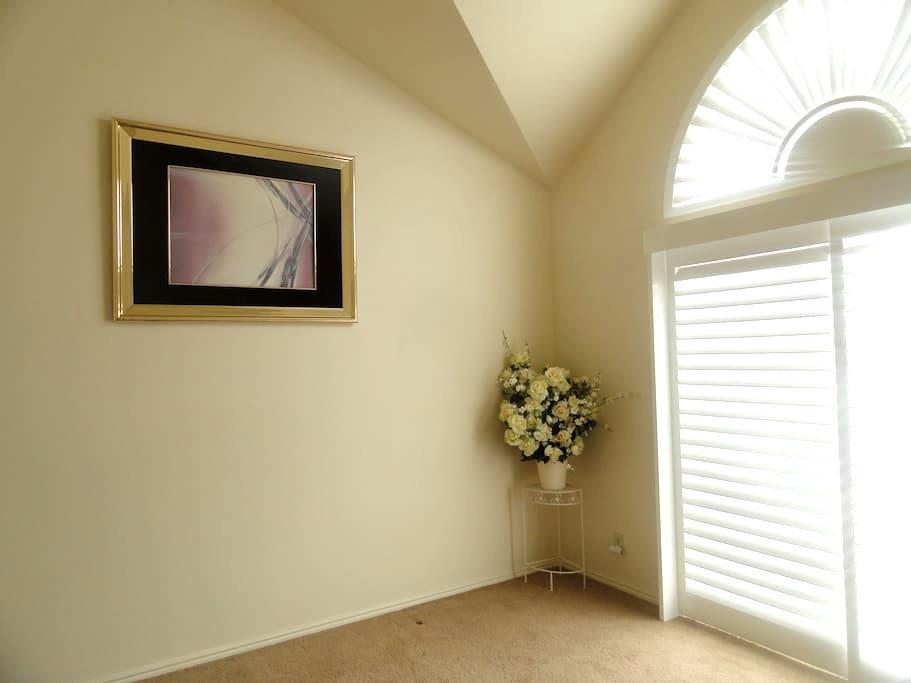 Comfortable master bedroom in Bountiful - UT! - Bountiful - Condomínio