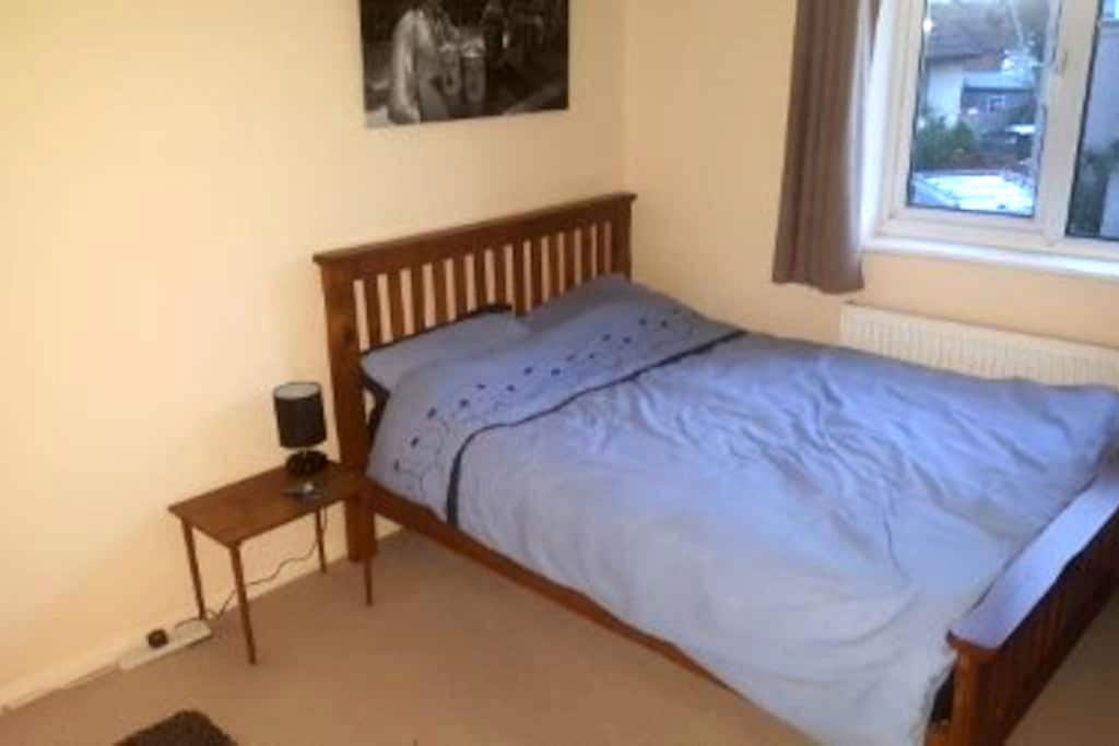 Clean, bright, comfortable room. - Marlow