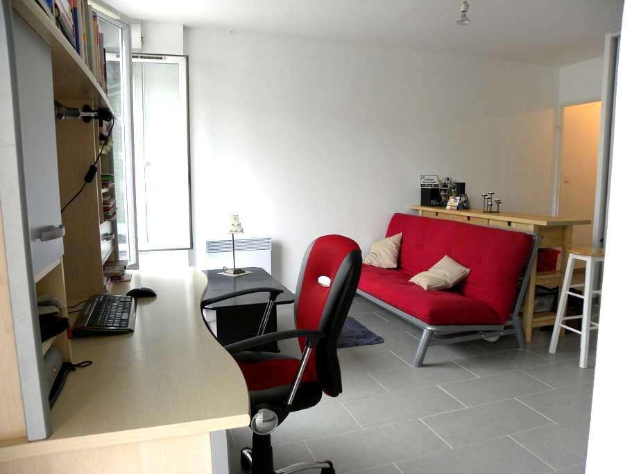Modern studio across the Seine-10 mn from Paris! - Alfortville - Appartement