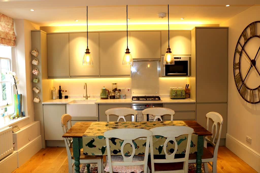 Entire home, mansion block on river - Londen - Appartement