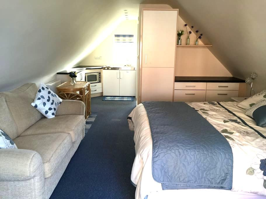 Upstairs annexe room - Boughton-under-Blean - Apartemen