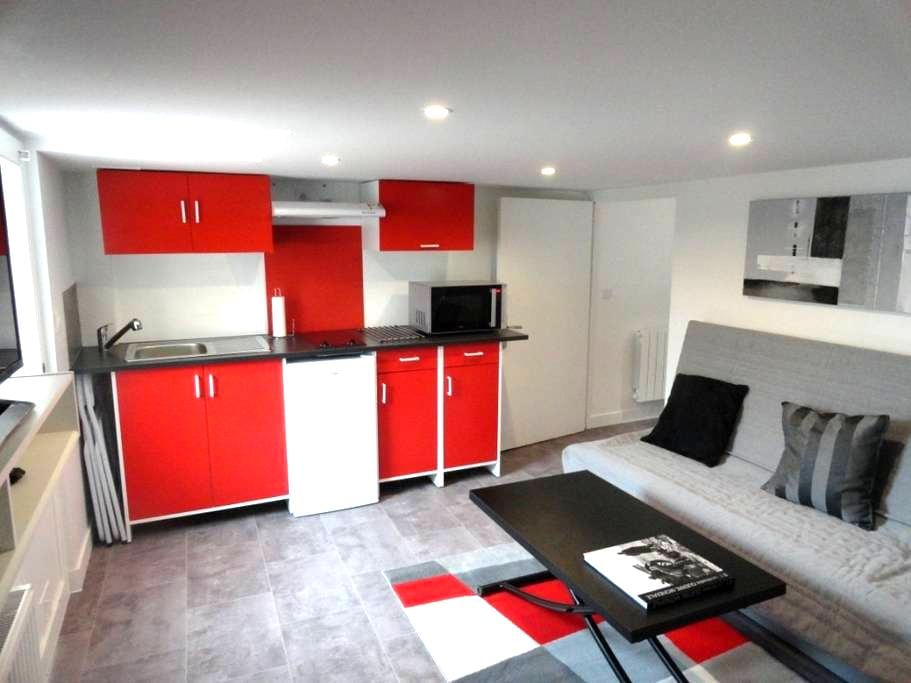 Joli studio + terasse privée à 25  km de Paris - Longpont-sur-Orge