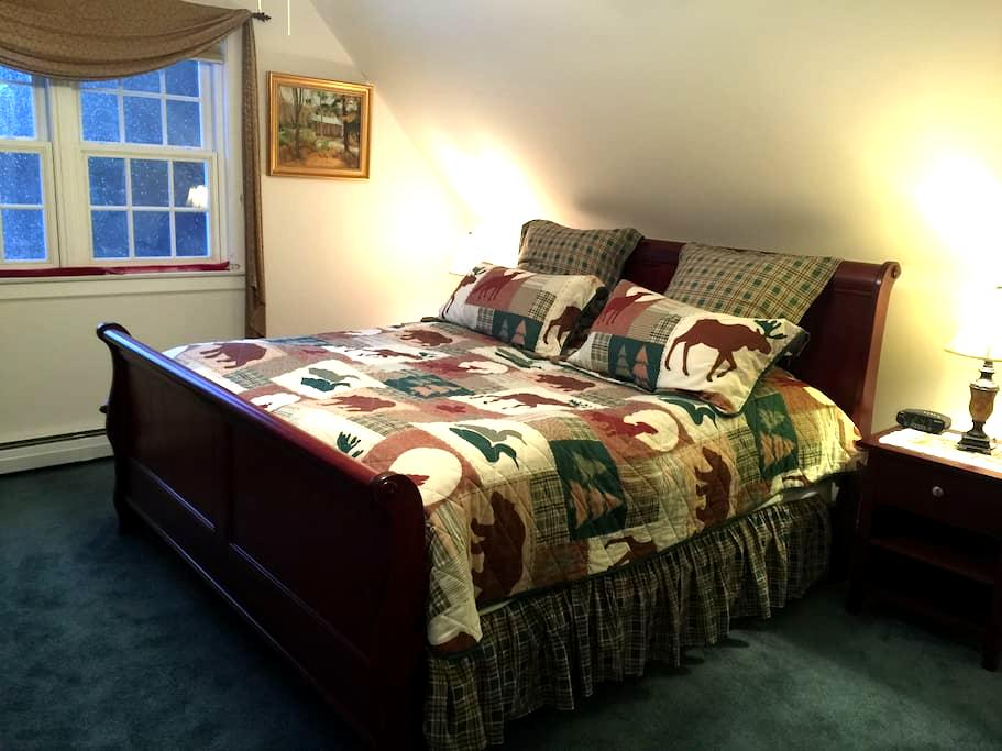 Cozy 1-BR Apartment, near Stowe, VT - Elmore - Lägenhet