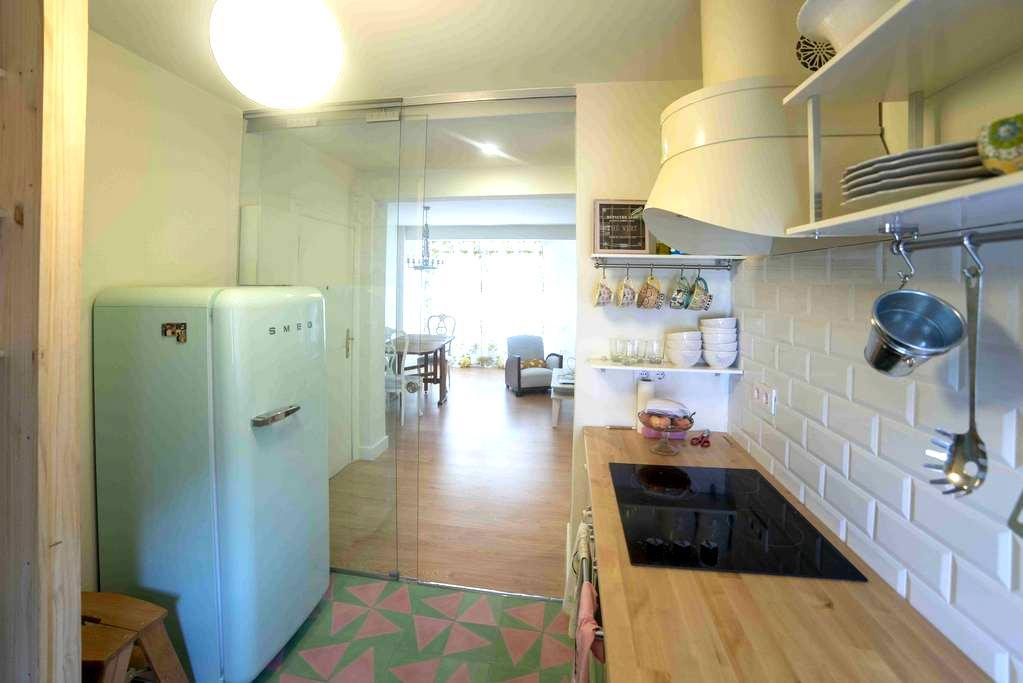 Piso centrico cerca del Sardinero y el centro - Santander - Apartamento