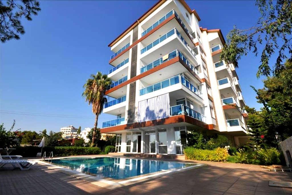NL, 1 B/R Seaview apartment Avsallar Pine Park - Alanya - 公寓