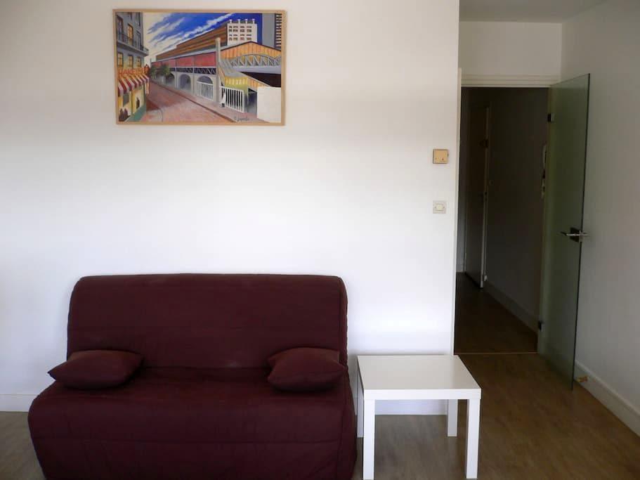 Calme, tout proche du centre ville - Rouen - Lejlighed