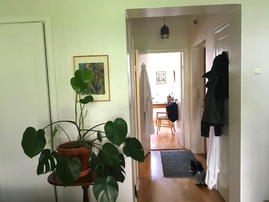 Calm apartment for short visits. - Gotemburgo - Apartamento