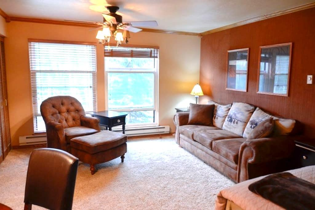 Brian Head Condo with  Awesome Cabin Feel - Brian Head