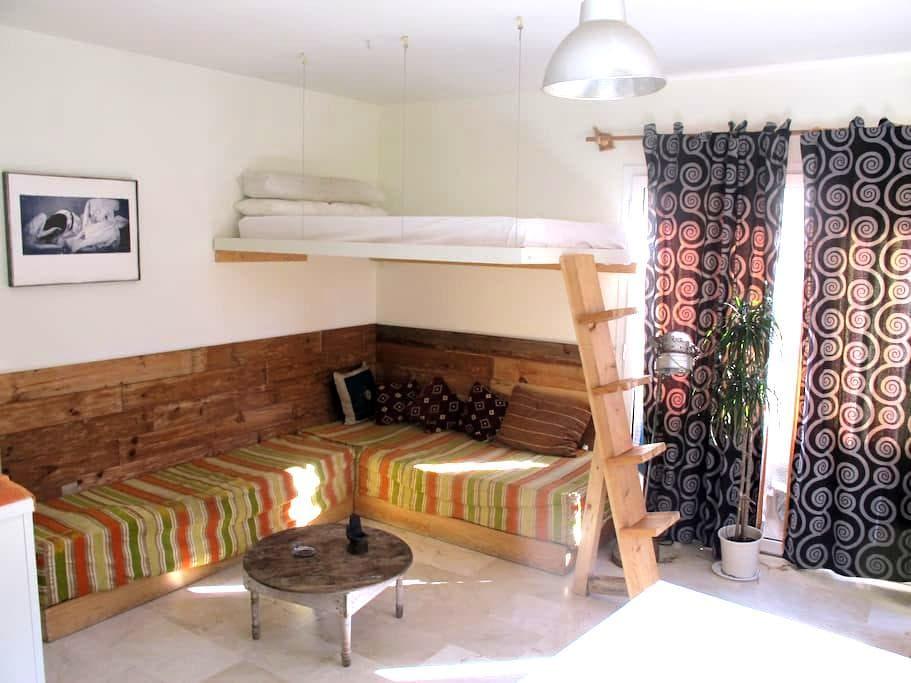 Studio in Tarifa (2 PAX+children) - Tarifa - Apartamento