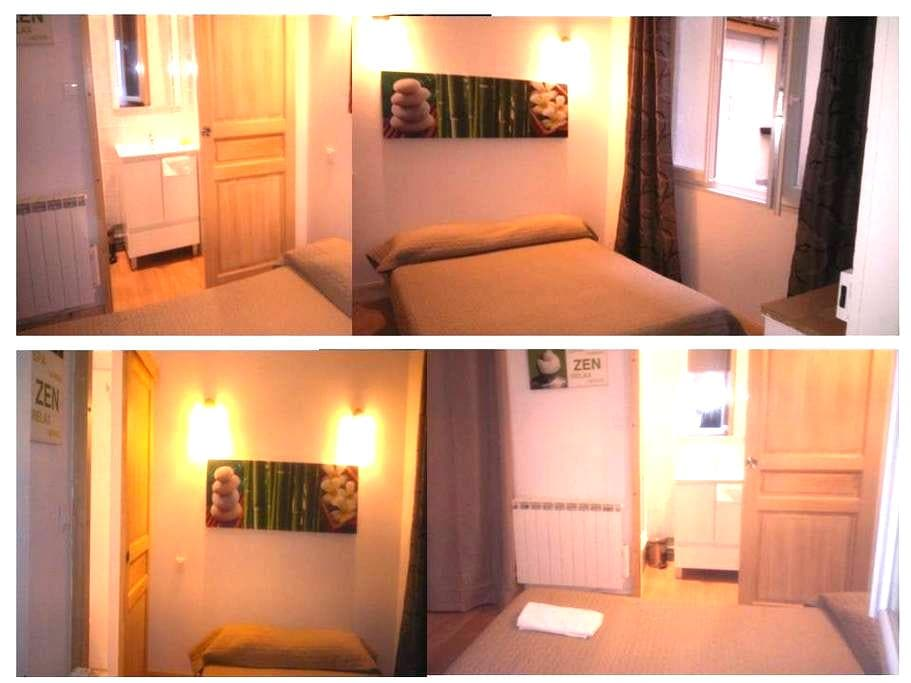 Chambre Double Standard - Ax-les-Thermes - Serviced flat