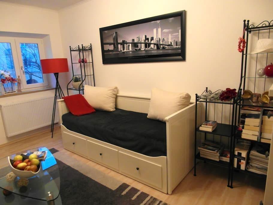 Gemütliches Zimmer, zentral gelegen - Аугсбург - Квартира