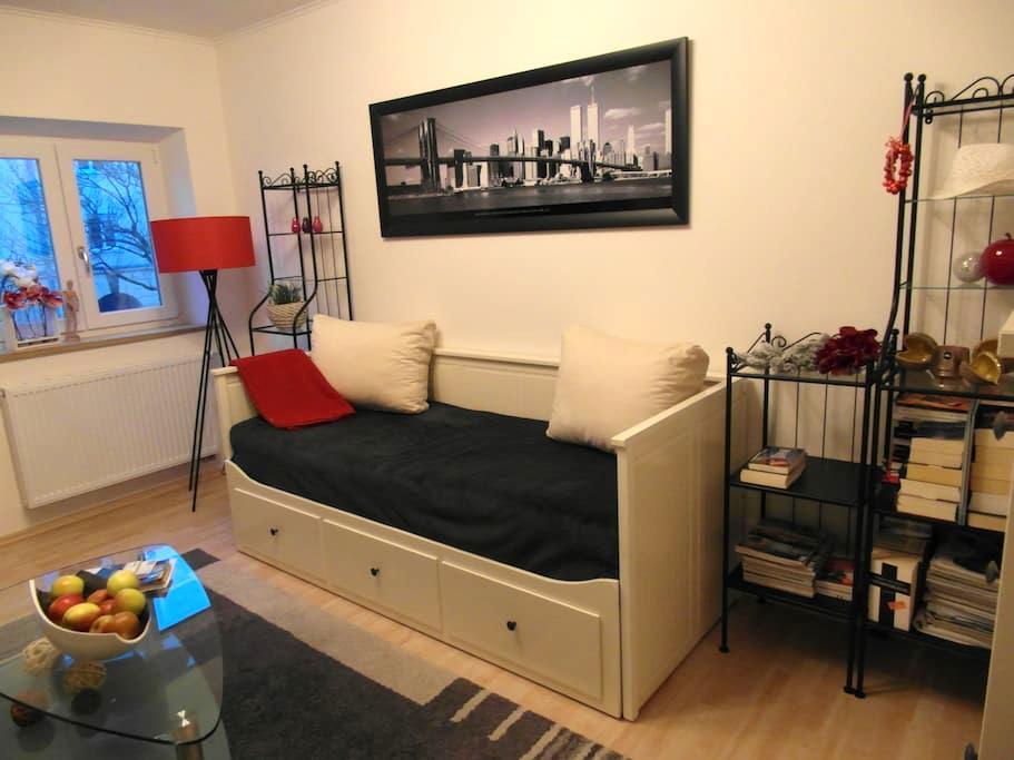 Gemütliches Zimmer, zentral gelegen - Augsburg - Wohnung