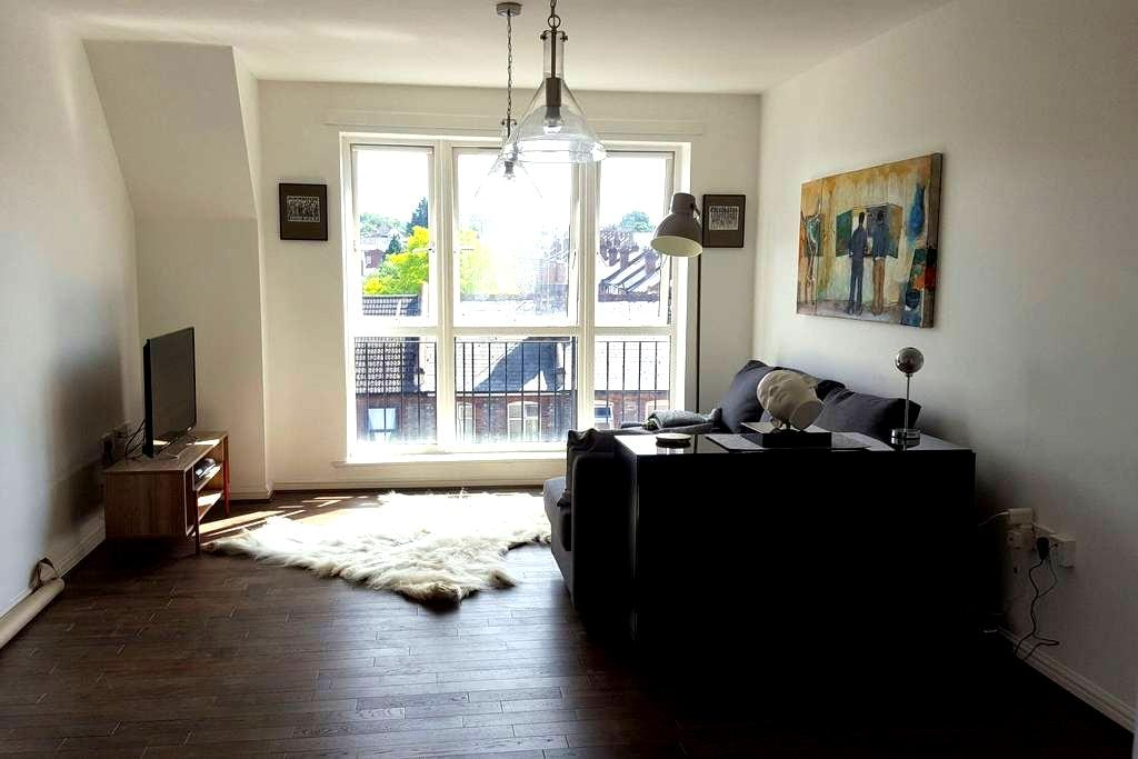 Double room in a cozy, artistic top floor flat. - Reading - Byt