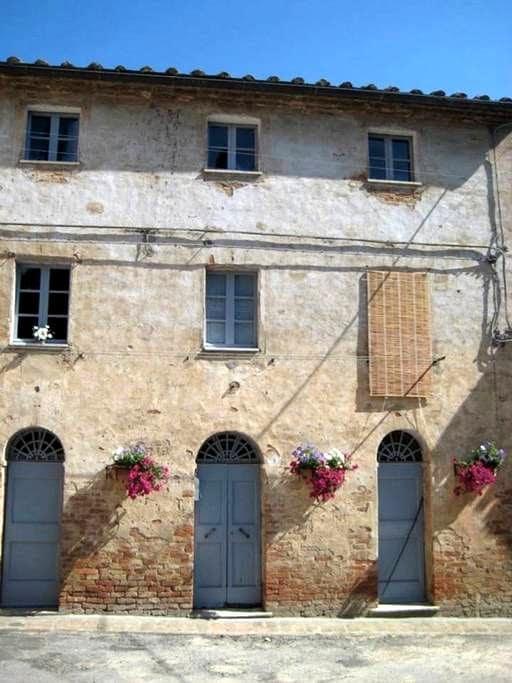 Medieval Tuscan House - Monterongriffoli - Talo