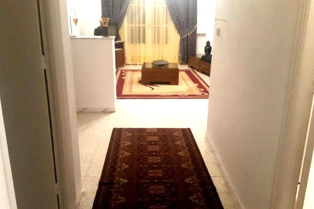 Charmante villa bien équipée  - Tunis - Huis
