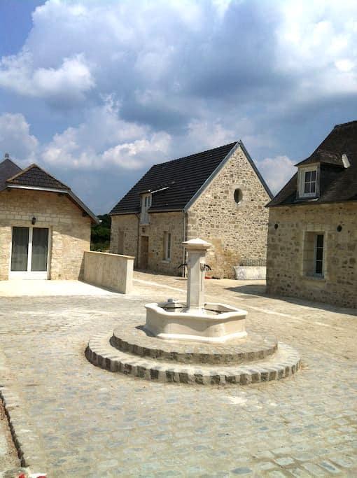 DUMAS cottage character in St Rémy - Villers-Cotterêts