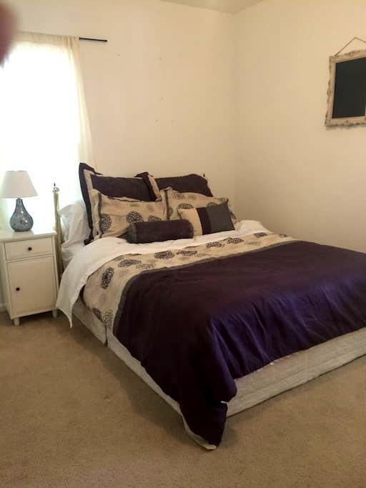 Private room close to Univ. of Utah - Salt Lake City - Huis